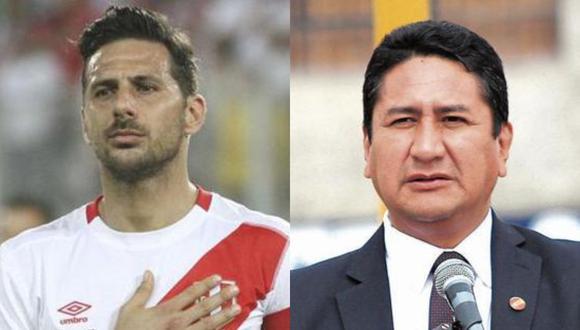 El excapitán de la selección peruana mostró su sentir en Instagram tras ver a Vladimir Cerrón ingresando al Congreso de la República.