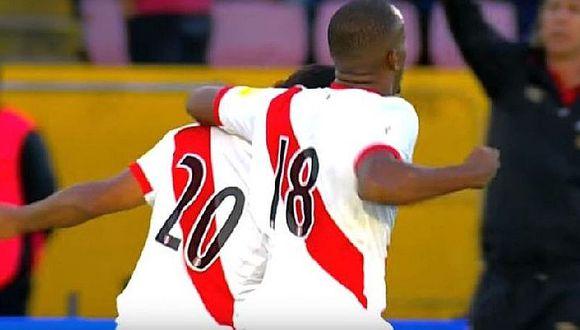 Edison Flores inmortalizó épica celebración de gol ante Ecuador [FOTO]