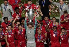 Bayern Múnich celebró así su sexto título de campeón de Champions League | FOTOS