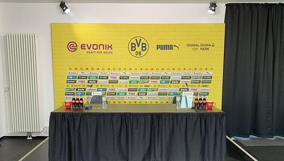 Bundesliga: Borussia Dortmund dieron conferencia de prensa sin periodistas (Foto: Borussia Dortmund)