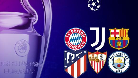 Champions League, en vivo: canales TV para seguir todos los partidos de la jornada. FOTO: Champions League.