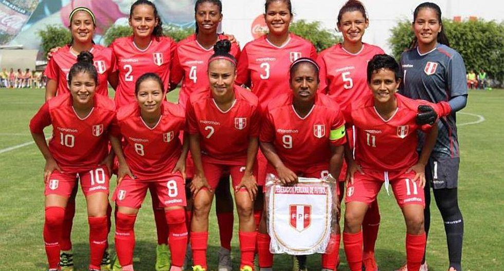Selección peruana femenina   Así está ubicada la 'Bicolor' en el nuevo ranking FIFA   FOTO