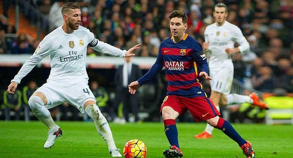 Real Madrid vs. Barcelona EN VIVO ONLINE primer derbi de la temporada
