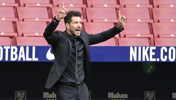 Diego Simeone renovó contrato hasta 2024. (Foto: AFP)