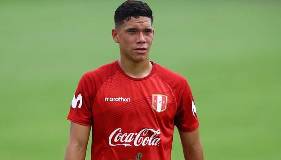 A sus 19 años, Yuriel Celi es una de las promesas del fútbol peruano. (Foto: GEC / Agencias)