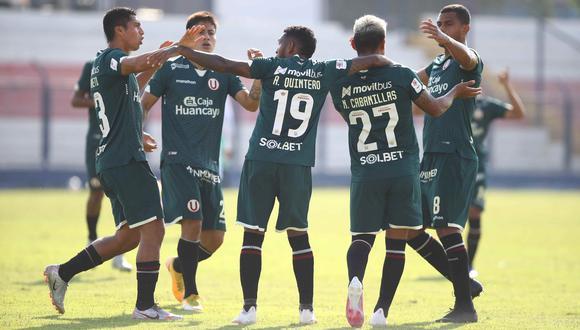 Los 'cremas' se impusieron ante los 'churres' 2-1 con gol de Rugel y autogol de Alberto Rodríguez. (Foto: Liga 1)