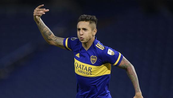 Boca Juniors goleó 3-0 a The Strongest con goles de Agustín Almendra, Sebastián Villa y autogol de Gabriel Valverde por el Grupo C de la Copa Libertadores. (Foto: Twitter)