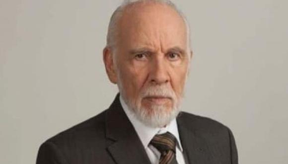 """Aarón Hernán debutó en 1965 en la telenovela """"La mentira"""". (Foto: Facebook oficial)"""