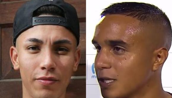 Jean Deza y Jesús Barco, los dos futbolistas implicados en ampays.