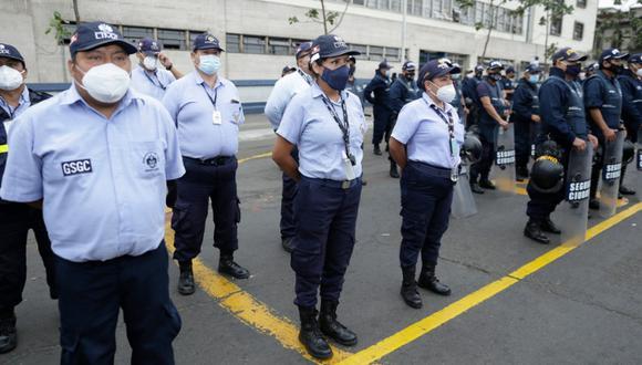 Para garantizar la seguridad de la ciudadanía este domingo 11 de abril, se desplegará a más de 900 trabajadores municipales. Foto: Municipalidad de Lima