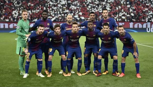 Barcelona prescindirá de cinco futbolistas a final de temporada [FOTOS]
