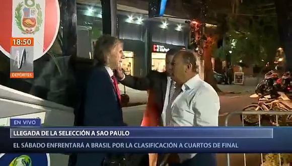 Selección peruana: así fue la llegada de la 'bicolor' a Sao Paulo para enfrentar a Brasil | VIDEO