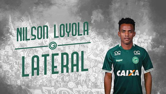 Nilson Loyola fue oficializado como nuevo jugador de Goiás de Brasil