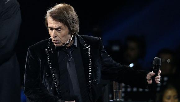 Raphael anunció el estreno de su serie documental para celebrar sus 60 años de carrera. (Foto: Claudio REYES / AFP)