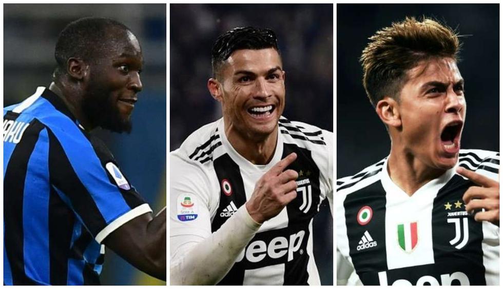 Los jugadores más valiosos de la Serie A.