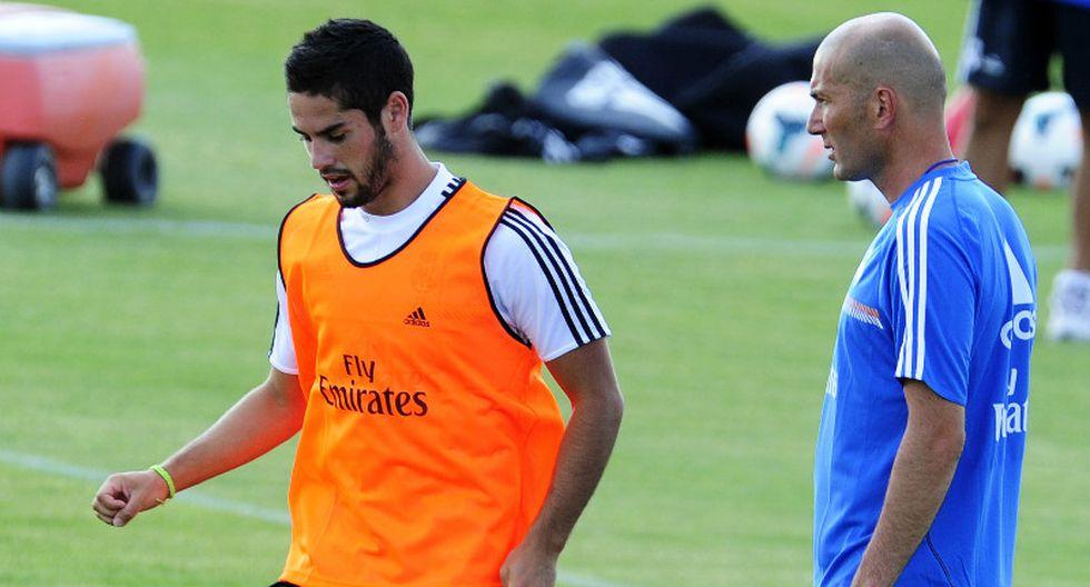 Real Madrid: Zinedine Zidane rechazó fichaje de Isco por el Arsenal