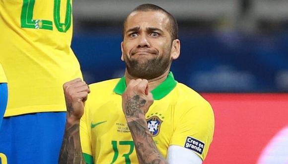 Perú vs. Brasil | Dani Alves otra vez envía mensaje polémico a horas de la final de la Copa América 2019 | FOTO