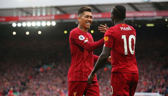 Liverpool es líder de la Premier League inglesa, seguido por el Manchester City. (Foto: Getty Images)
