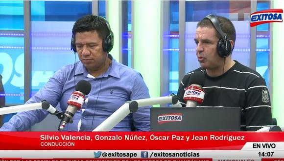 Johan Fano: Periodista que lo insultó fue separado de su trabajo