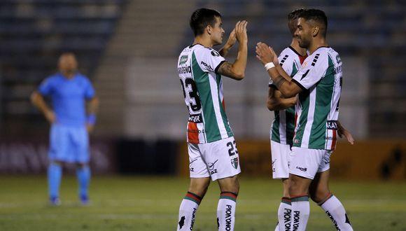 Palestino y Guaraní vienen de eliminar a Cerro Largo y Corinthians, respectivamente. (Foto: AFP)