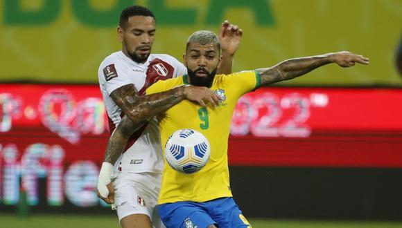 La selección peruana no puedo ante Brasil en Recife   Foto: GEC