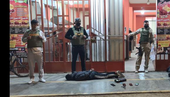 La Policía le hacía vigilancia a los hampones. (Foto: PNP)