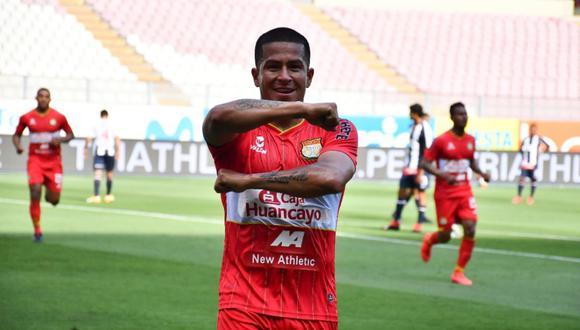 Marcio Valverde, mediocampista de Sport Huancayo en Liga 1