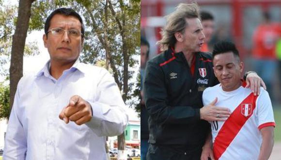 El periodista deportivo tuvo fuerte crítica contra integrante del equipo peruano luego de la derrota peruana ante Bolivia en La Paz por las Eliminatorias.