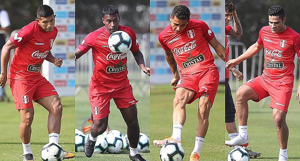 Selección peruana: Edison Flores, Miguel Araujo, Yotún, Da Silva y Santamaría entrenaron en Videna | FOTO