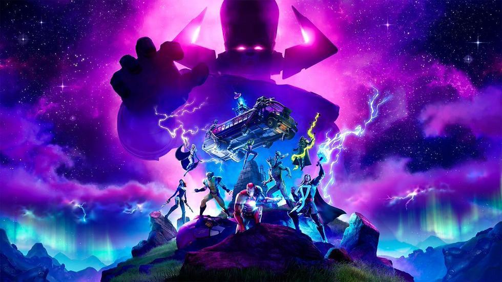 Fortnite: evento de Galactus en vivo