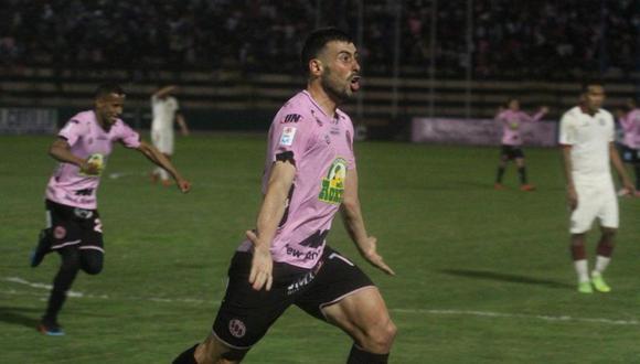 A los 9′ del primer tiempo, Sebastián Penco aprovechó una contra de Sport Boys y puso el 1-0 ante Alianza Lima
