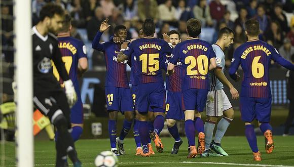 Barcelona hace historia en La Liga tras el empate 2 a 2 con Celta