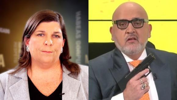 La periodista lamentó la acción realizada por Beto Ortiz en medio de toda la coyuntura política por la elección del presidente del Perú.