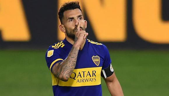 Carlos Tévez pondría este viernes punto final a su tercer ciclo en Boca Juniors. (Foto: AFP)