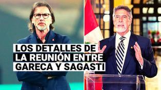 Ricardo Gareca y Francisco Sagasti dialogaron sobre el inicio de la Liga 1 y los trabajos de la selección peruana