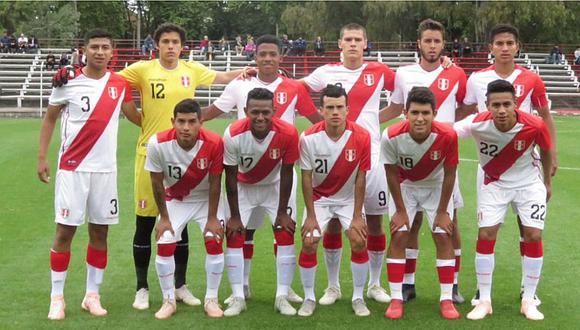 DT de la Sub-20 de Perú no se preocupa por rivales del Sudamericano