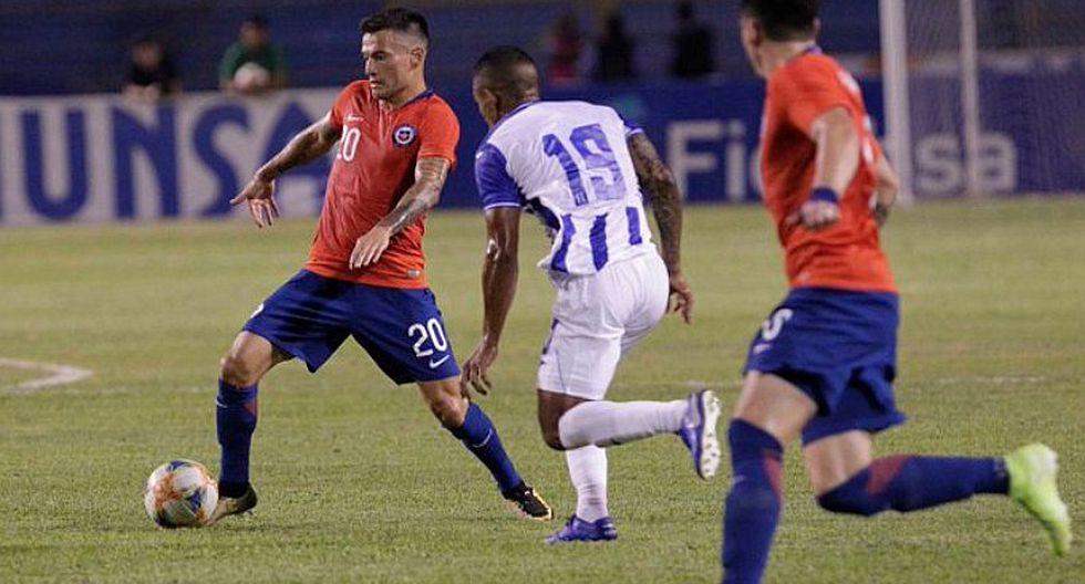 Chile 1-1 Honduras EN VIVO ONLINE | desde el Estadio Olímpico Metropolitano