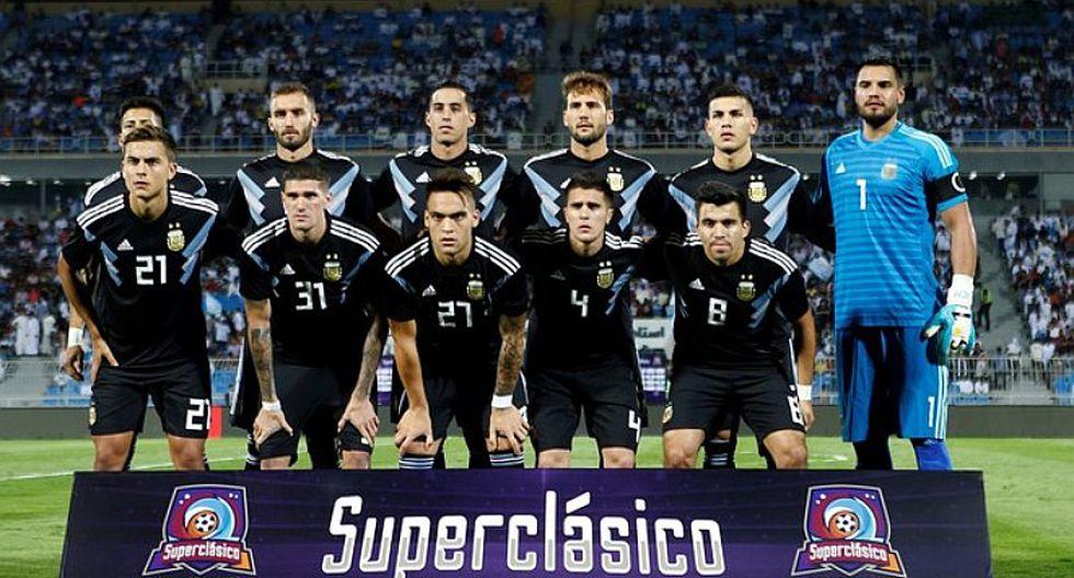 La lujosa banca de suplentes del encuentro entre Argentina e Irak [FOTO]