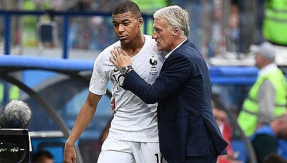 Didier Deschamps y el fuerte comentario sobre Kylian Mbappé