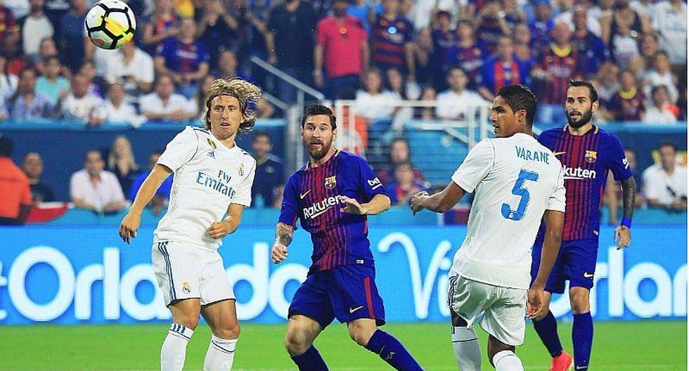 Barcelona gana derby a Real Madrid (3-2) por la International Champions Cup