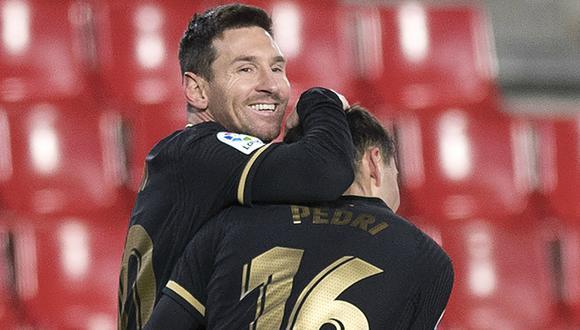 Barcelona goleó 4-0 a Granada con dobletes de Lionel Messi y Antoine  Griezmann | INTERNACIONAL | EL BOCÓN