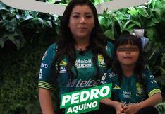 Liga MX   Esposa e hija de Pedro Aquino sorprenden durante anuncio de la alineación titular de León   VIDEO