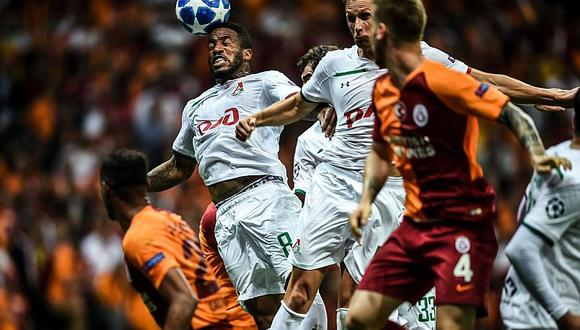 Con Farfán: Galatsaray goleó 3-0 a Lokomotiv por la Champions League