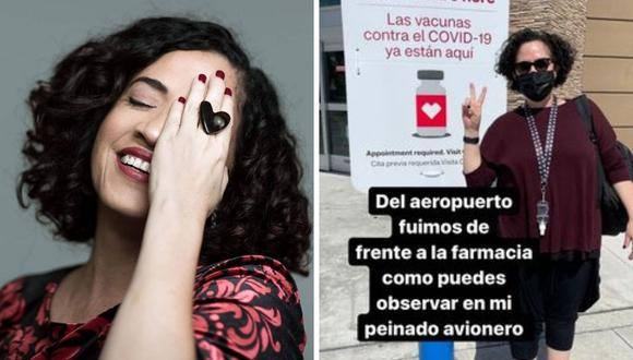 Wendy Ramos contó cómo fue que decidió viajar a EE.UU. para vacunarse. (Foto: Instagram @wendyramosrey).