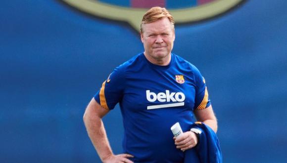 Ronald Koeman perdió a dos jugadores claves de Barcelona. (Foto: EFE)