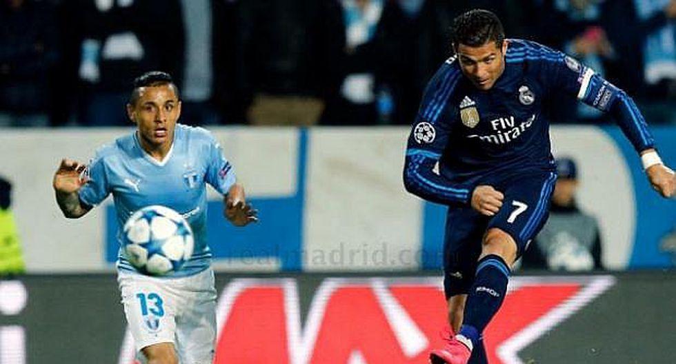 Cristiano Ronaldo llegó a los 700 goles: el día que CR7 vacunó con 4 goles al Malmo, exclub de Yoshimar Yotún | VIDEO