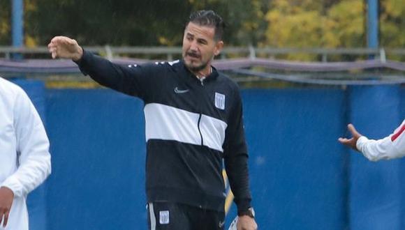 Daniel Ahmed quedará a cargo del primer equipo de Alianza Lima (Foto: GEC / Difusión)