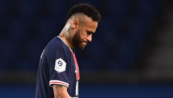 PSG respaldó a Neymar mediante un comunicado. (Foto: AFP)