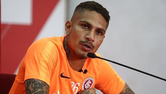 Internacional vs. Athletico Paranaense: Alondra le da mala noticia a Paolo Guerrero a minutos de la final | FOTO