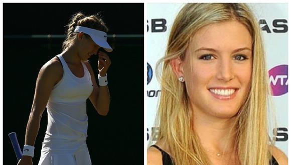 Wimbledon: Eugenie Bouchard generó escándalo por su ropa interior